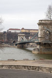 Kettenbrücke, Budapest Lizenzfreie Stockbilder