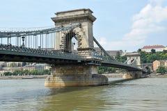 Kettenbrücke, Budapest Stockfoto