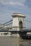 Kettenbrücke von Budapest Stockfoto
