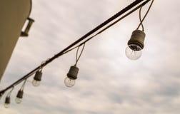 Kettenlicht stockfotografie