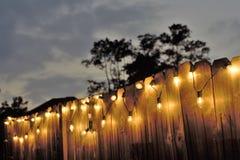 Kettenlichter Stockfotos