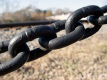 Kettenlinks Lizenzfreies Stockfoto