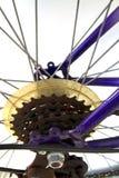 Kettenräder Stockfoto