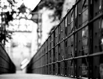 Kettensteg Nürnberg Stockfoto