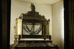 Kettingen van de kerk van Heilige Peter San Pietro Vincoli stock fotografie