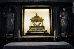 Kettingen van Heilige Peter in San Pietro in Vincoli-kerk Royalty-vrije Stock Foto