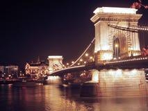 Kettingsbrug Royalty-vrije Stock Afbeelding