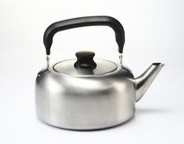 Kettle. Isolated image of kettle in white background stock images