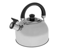 Kettle. Isolated on white background Stock Photos