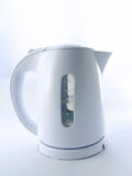 Kettle. Electric kettle isolated on a white background royalty free stock images