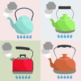 kettle stock illustrationer