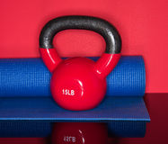 Kettle Ball Workout Royalty Free Stock Photo
