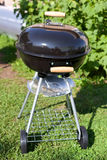 Kettle barbeque grill outside Stock Image
