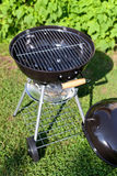 Kettle barbeque grill outside Royalty Free Stock Image