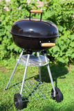 Kettle barbeque grill outside Royalty Free Stock Photo