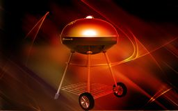 Kettle BBQ Royalty Free Stock Images