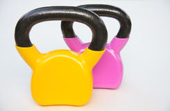 Kettle bell Royalty Free Stock Images