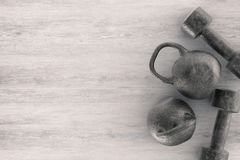 Kettle bell Royalty Free Stock Image