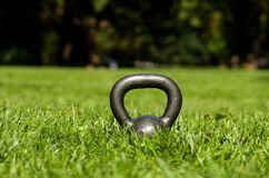 Kettle bell Royalty Free Stock Photography