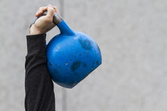 Kettle bell Stock Image