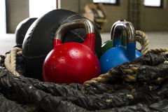 Kettle bells Stock Image