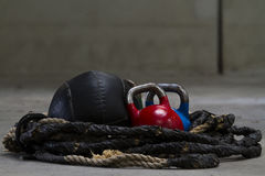 Kettle bells Royalty Free Stock Photos