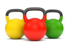 Kettle bells royalty free stock photo