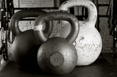 Kettle-bells Royalty Free Stock Photo