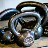 Kettle Bells. Royalty Free Stock Photos