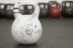 Kettle-bells Stock Image