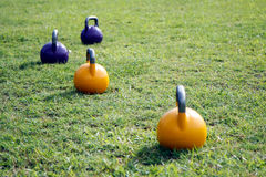 Kettle Bells Stock Photography