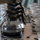 Kettle boiler pot Stock Photo