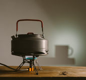 Kettle camp Stock Photography