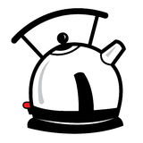 Kettle cartoon illustration Royalty Free Stock Photos