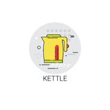 Kettle Cooking Utensils Kitchen Equipment Appliances Icon Stock Images