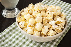 Kettle Corn Snack Stock Images