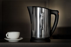 Kettle and cup Stock Photography
