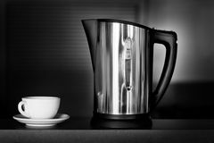 Kettle and cup Royalty Free Stock Photos