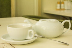 Kettle for a cup of tea. Stock Photos