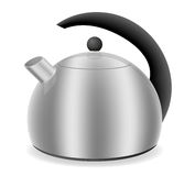 Kettle for gas cooker vector illustration Stock Images