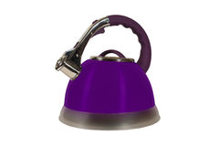 Kettle isolated Stock Image