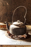 Kettle in the kitchen. Stock Photography