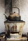 Kettle in the kitchen. Stock Images