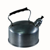 Kettle. Made ​​of aluminum. An alarm sounds when the water boils Stock Photography