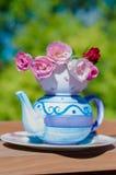 Kettle - a miracle, tea party Stock Photos