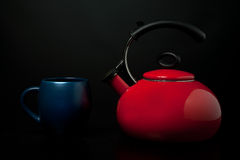 Kettle and Mug Stock Photos