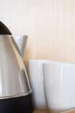 Kettle and mugs Royalty Free Stock Photos