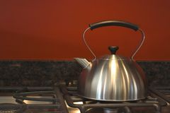 Kettle (Primitive  still life) Royalty Free Stock Photos