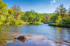 Kettle River in Autumn Stock Photography