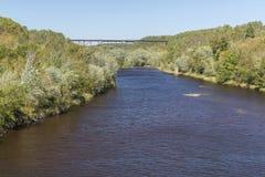 Kettle River Railroad Bridge Royalty Free Stock Photography